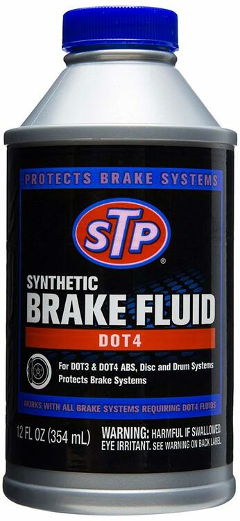 Synthetic Brake Fluid Dot4 12 Fl. Oz. STP