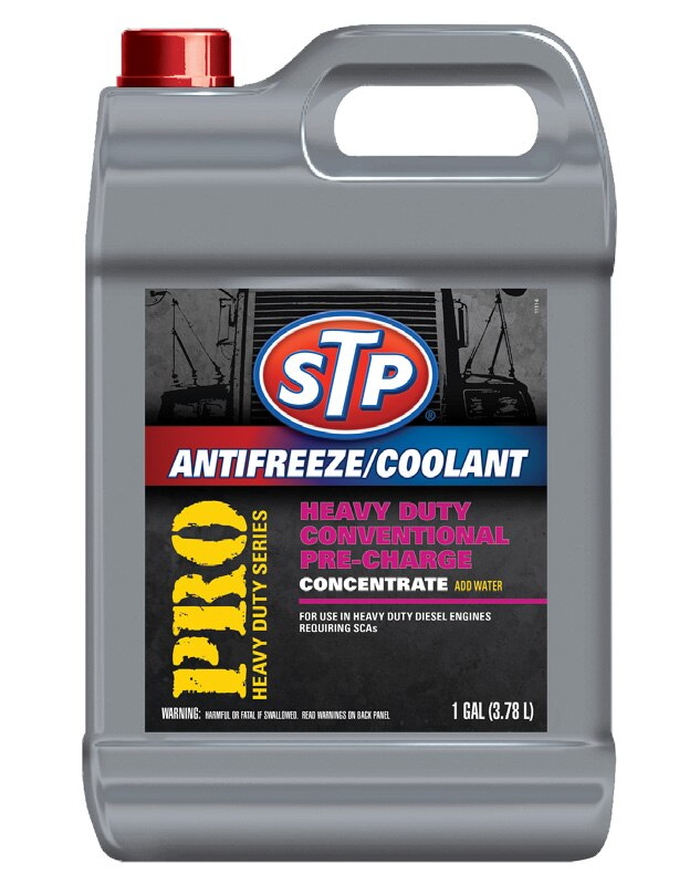 Antifreeze/Coolant Pro Heavy Duty Conventional Pre-Charge 1 Gal Stp