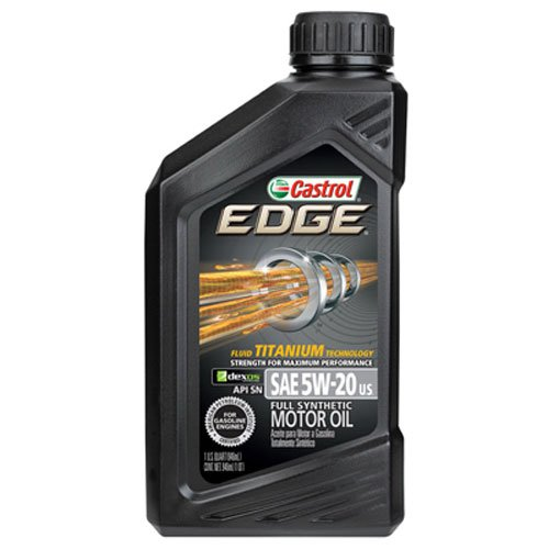 Motor Oil Full Synthetic Edge High Mileage 1 QtCastrol