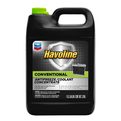 Antifreeze-Coolant Concentrate Conventional 50/50 1 Gallon Havoline Chevron