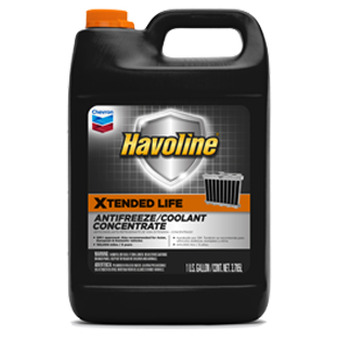 Antifreeze DEX/ELC 50/50 1 Gallon Havoline Chevron
