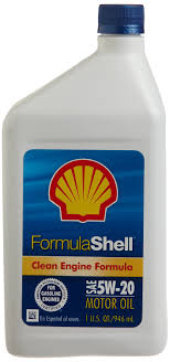 Motor Oil Clean Engine Formula 1 Qt Shell