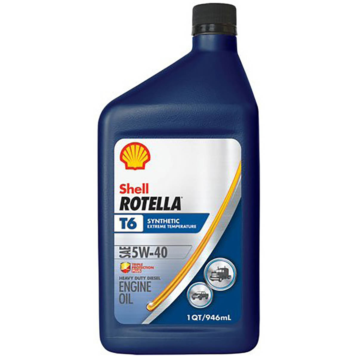 Motor Oil Rotella T6 Energized Protection 5W-40 Shell
