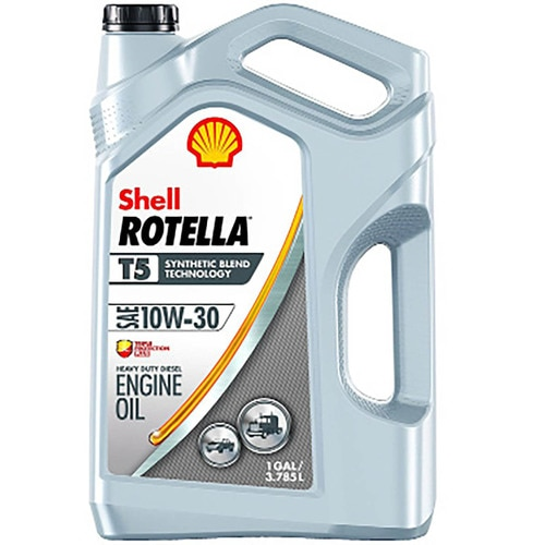 Motor Oil Rotella T5 10W-30 1 Gal Shell