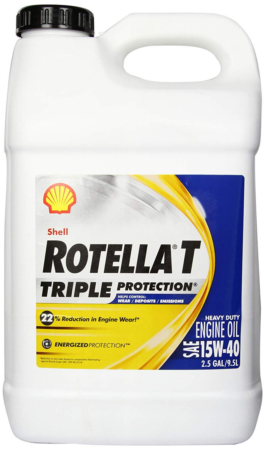 Motor Oil  Rotella T  Triple Protection 15W-40 Shell
