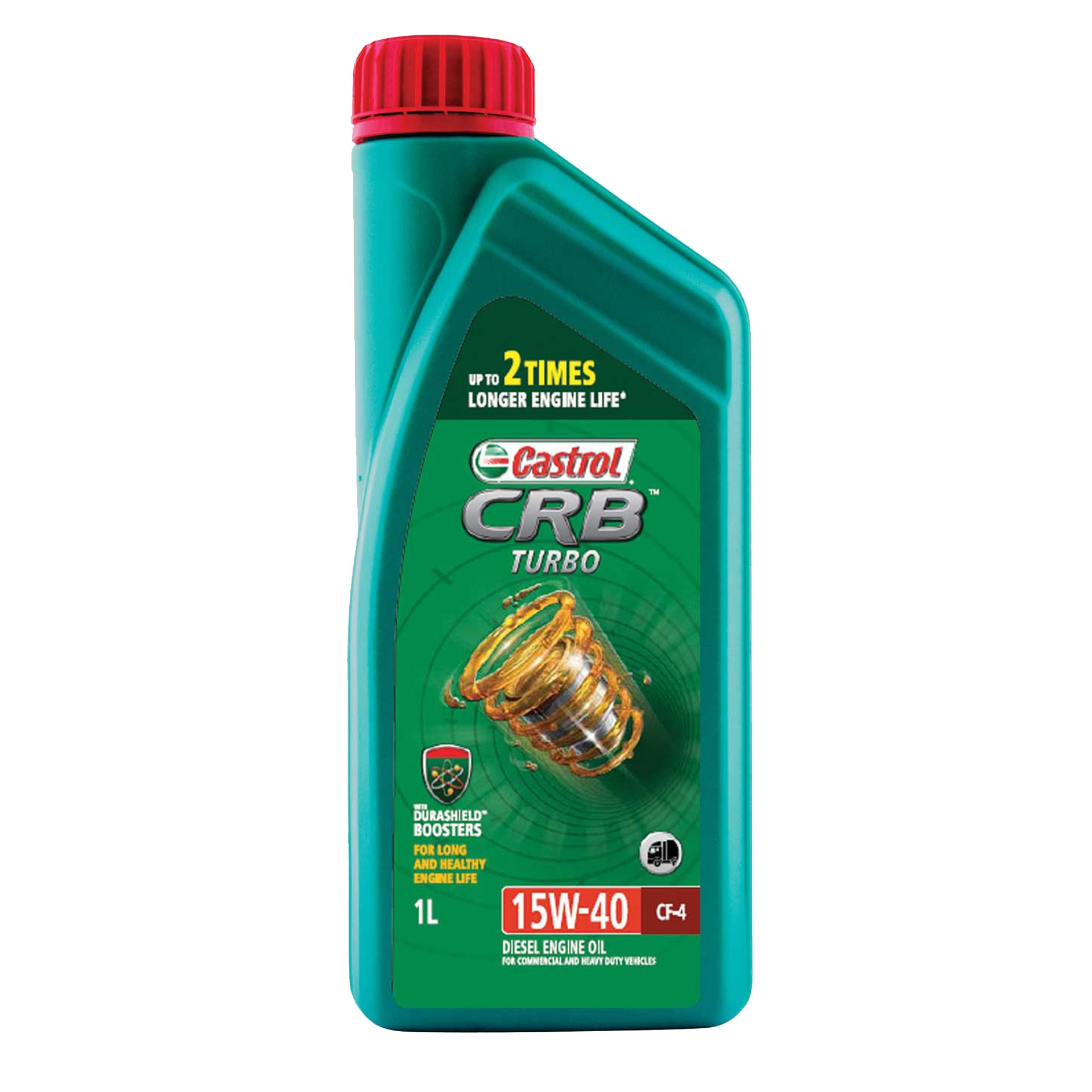 Motor Oil Multipurpose CRB 15W-40 CK-4 Part-Synthetic Castrol