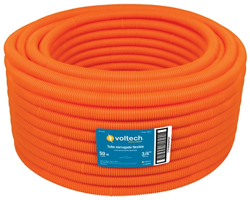 Corrugated Flexible Conduits w/ Guide Voltech