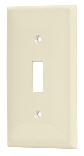 Single Toggle Bakelite Wallplate Voltech