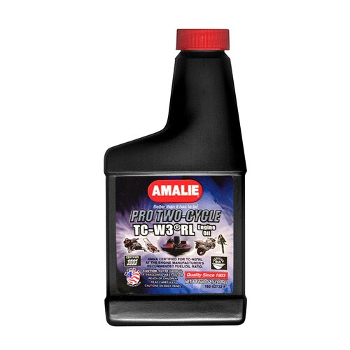 Motor Oil Pro Two-Cycle TC-W3 RL 8 oz. Amalie