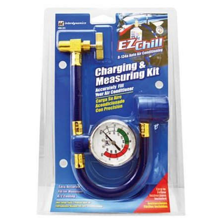 Arctic Freeze R-134a Recharge Hose Gauge Kit Ez Chill