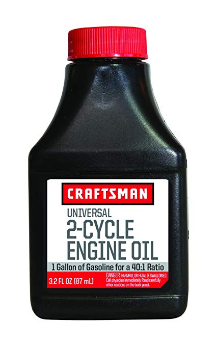 Motor Oil Universal 2 Cycles Craftsman