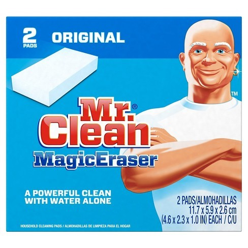 Pads with Durafoam Original Cleaning MagicEraser Mr. Cleaner