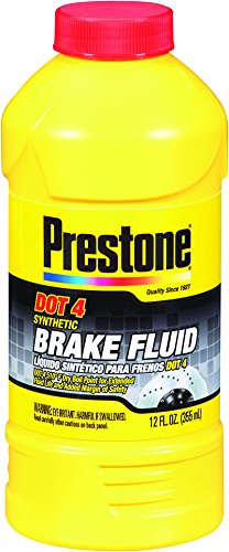 Brake Fluid DOT 4 Synthetic High-Temp Prestone
