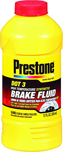 Brake Fluid DOT 3 Synthetic High-Temp Prestone