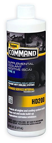 Supplemental Coolant Additive Type II (SCA). Prestone