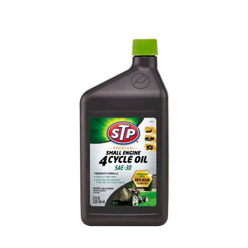 Motor Oil Small Engine 4 Cycle SAE-30 32 oz. Premium STP