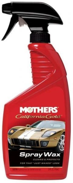 Spray Wax Clean & Protect  24 oz. California Gold Mothers