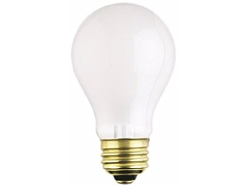 A19 Rough Service Incandescent Light Bulb 2700K Frost E26 (Medium) Base Westinghouse