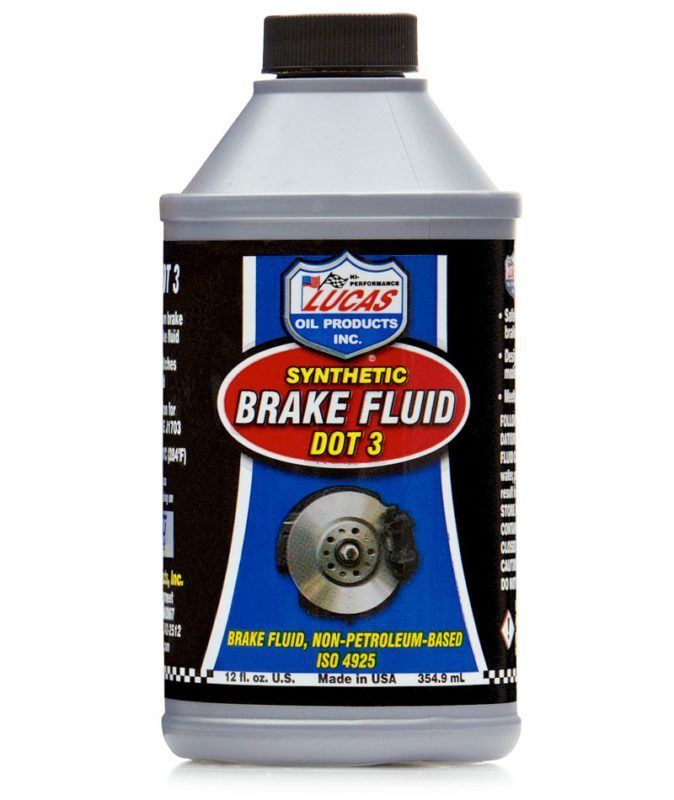 Brake Fluid Synthetic DOT 3 Lucas