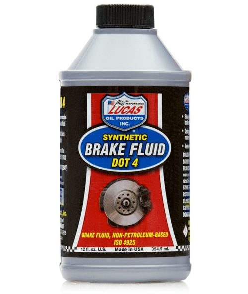 Brake Fluid Synthetic DOT 4 Lucas