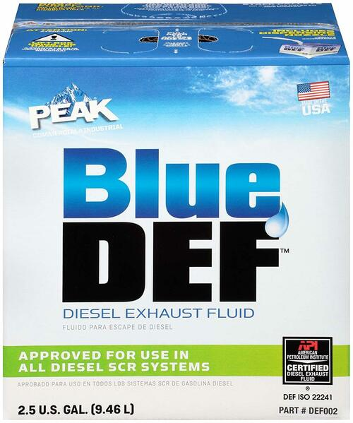Diesel Exhaust Fluid 2.5 Gallon Peak