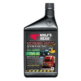Motor Oil Synthetic Blend 15W-40 Wolfs Head