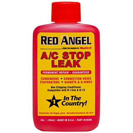 Additive A/C Vent Stop Leak 2 Oz Red Angel