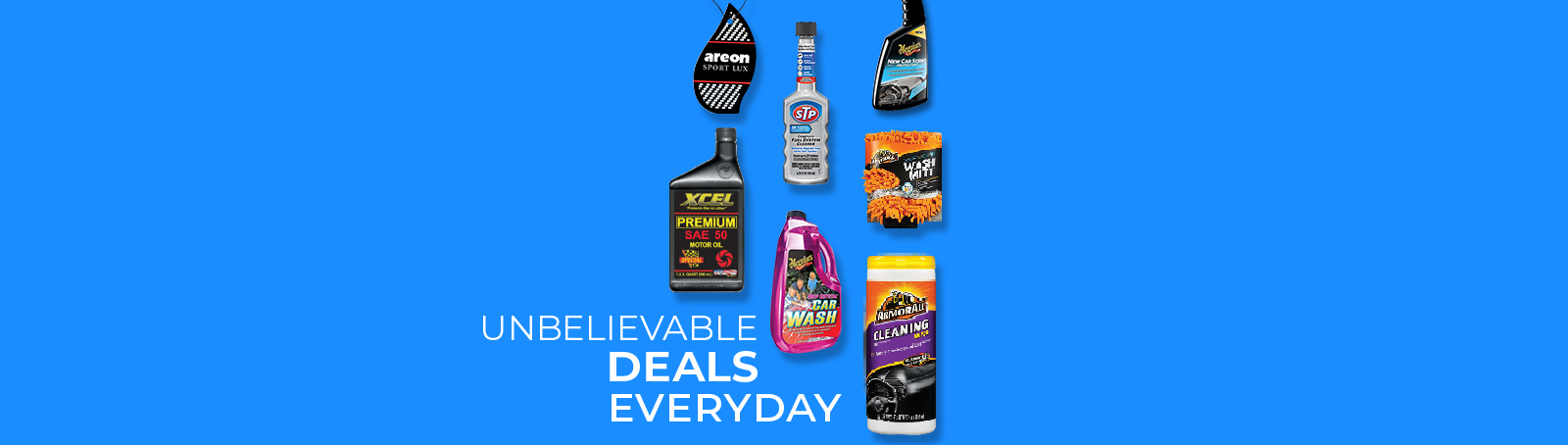 Unbelievable Deals Everyday in our Wholesale.