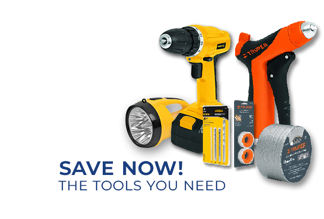 Save now! The tools you need.